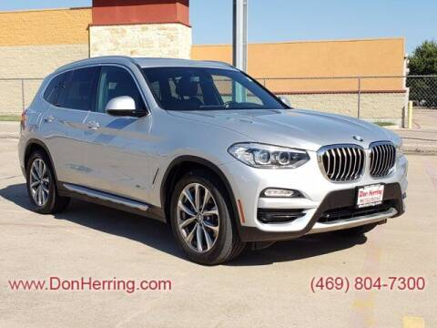 2018 BMW X3 for sale at DON HERRING MITSUBISHI in Irving TX
