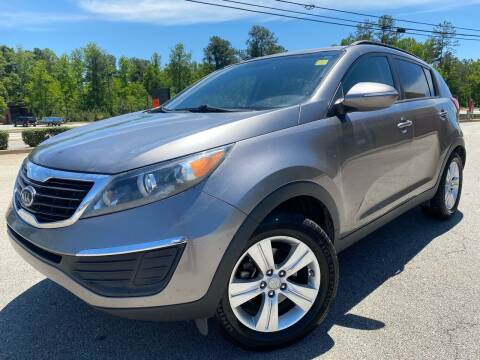 2012 Kia Sportage for sale at Gwinnett Luxury Motors in Buford GA