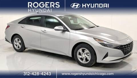 2021 Hyundai Elantra for sale at ROGERS  AUTO  GROUP in Chicago IL