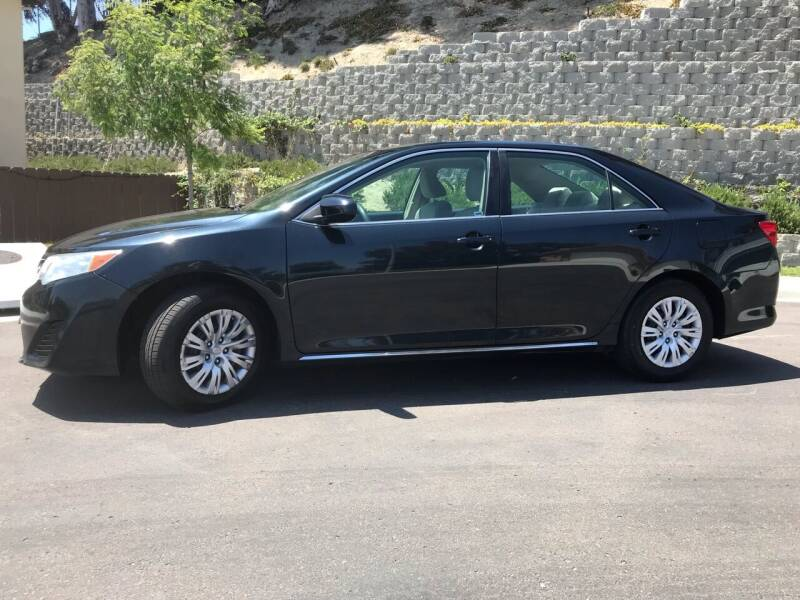 2013 Toyota Camry for sale at CALIFORNIA AUTO GROUP in San Diego CA