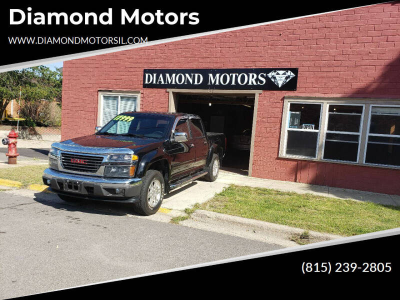 2012 GMC Canyon for sale at Diamond Motors in Pecatonica IL