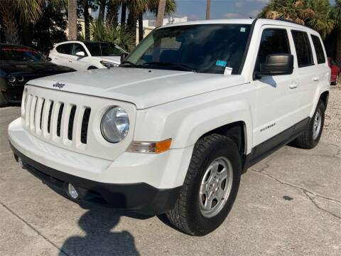 2017 Jeep Patriot for sale at Florida Fine Cars - West Palm Beach in West Palm Beach FL
