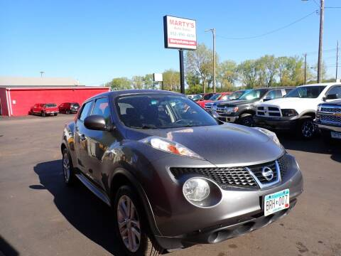 2014 Nissan JUKE for sale at Marty's Auto Sales in Savage MN