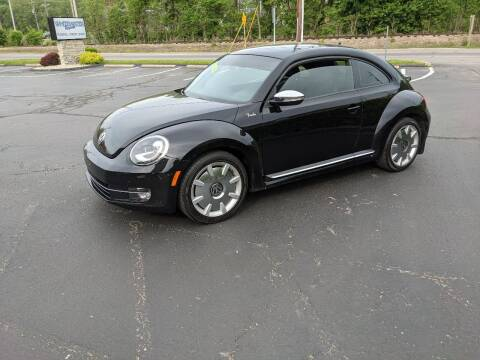 2013 Volkswagen Beetle for sale at Clarks Auto Sales in Connersville IN