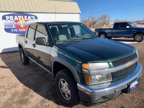 2005 Chevrolet Colorado for sale at Praylea's Auto Sales in Peyton CO
