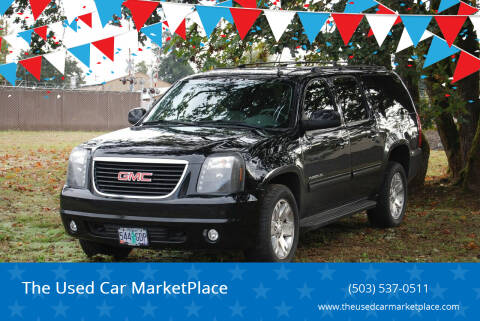 2012 GMC Yukon XL for sale at The Used Car MarketPlace in Newberg OR