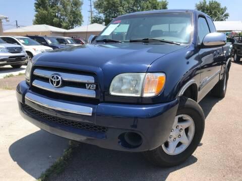 2004 Toyota Tundra for sale at Vtek Motorsports in El Cajon CA