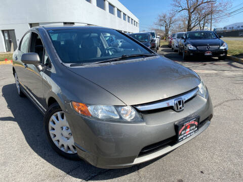 2008 Honda Civic for sale at JerseyMotorsInc.com in Teterboro NJ