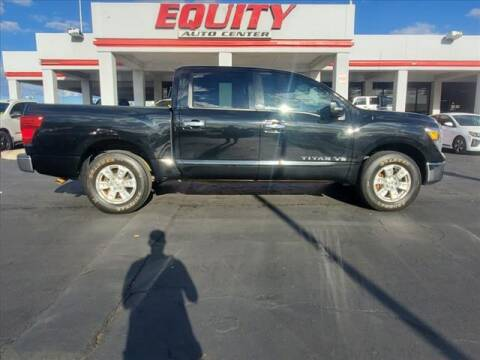 2018 Nissan Titan for sale at EQUITY AUTO CENTER in Phoenix AZ