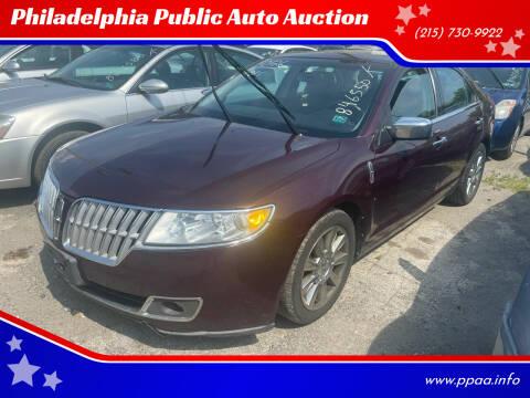2011 Lincoln MKZ for sale at Philadelphia Public Auto Auction in Philadelphia PA