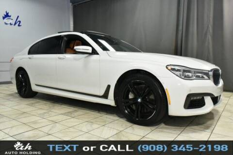 2016 BMW 7 Series for sale at AUTO HOLDING in Hillside NJ