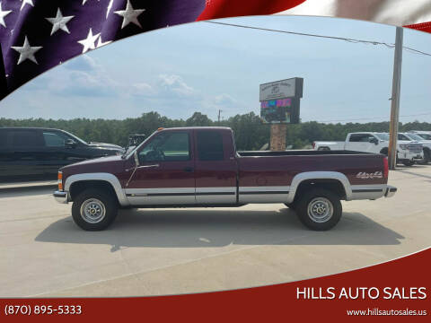 1995 Chevrolet C/K 2500 Series for sale at Hills Auto Sales in Salem AR