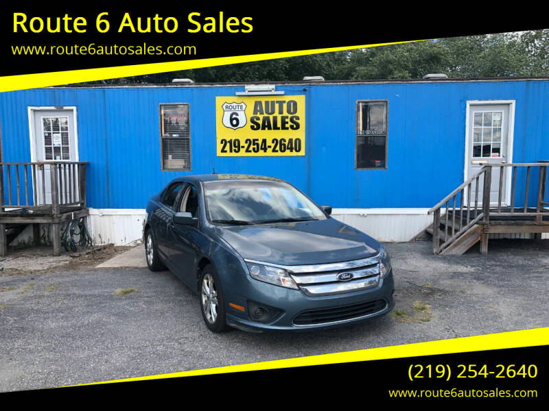 2012 Ford Fusion for sale at Route 6 Auto Sales in Portage IN