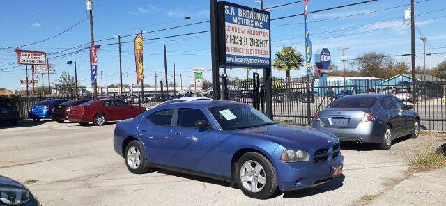 2007 Dodge Charger for sale at S.A. BROADWAY MOTORS INC in San Antonio TX