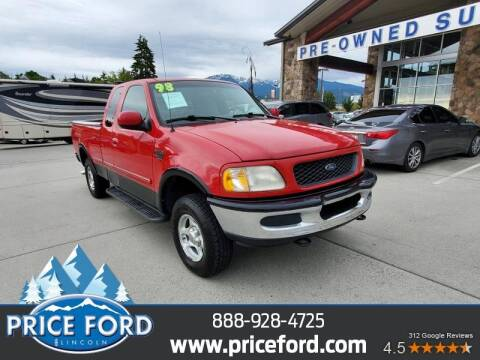 1998 Ford F-150 for sale at Price Ford Lincoln in Port Angeles WA