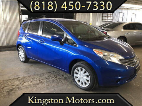 2015 Nissan Versa Note for sale at Kingston Motors in North Hollywood CA
