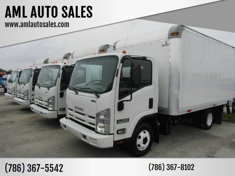 2012 Isuzu NPR-HD for sale at AML AUTO SALES - Box trucks in Opa-Locka FL