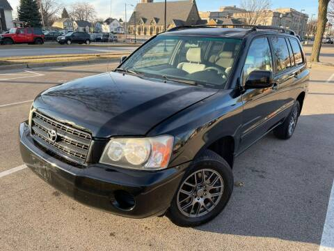 2002 Toyota Highlander for sale at Your Car Source in Kenosha WI