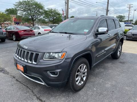 2014 Jeep Grand Cherokee for sale at TKP Auto Sales in Eastlake OH
