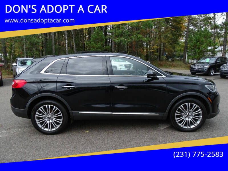 2017 Lincoln MKX for sale at DON'S ADOPT A CAR in Cadillac MI