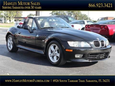 2000 BMW Z3 for sale at Hawley Motor Sales in Sarasota FL