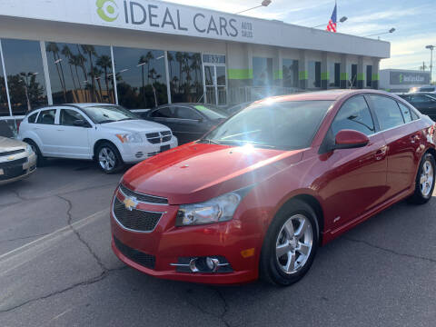 2012 Chevrolet Cruze for sale at Ideal Cars in Mesa AZ