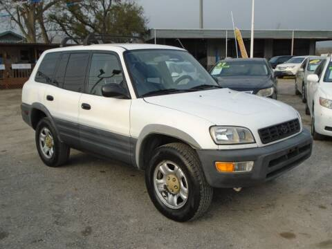 1998 Toyota RAV4 for sale at J & F AUTO SALES in Houston TX