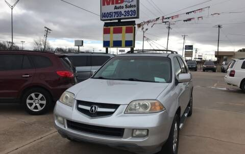 2006 Acura MDX for sale at MB Auto Sales in Oklahoma City OK