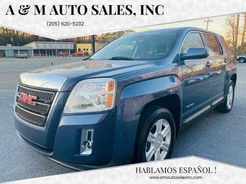2014 GMC Terrain for sale at A & M Auto Sales, Inc in Alabaster AL