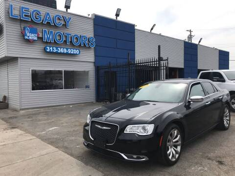 2018 Chrysler 300 for sale at Legacy Motors in Detroit MI