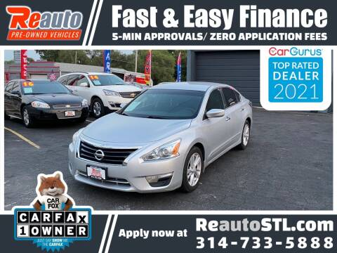 2014 Nissan Altima for sale at Reauto in Saint Louis MO