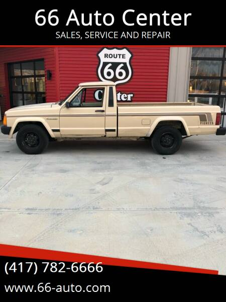 1989 Jeep Comanche for sale at 66 Auto Center in Joplin MO