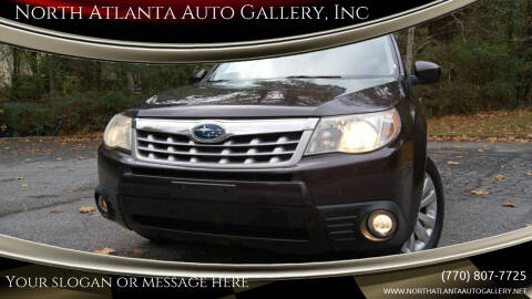 2013 Subaru Forester for sale at North Atlanta Auto Gallery, Inc in Alpharetta GA