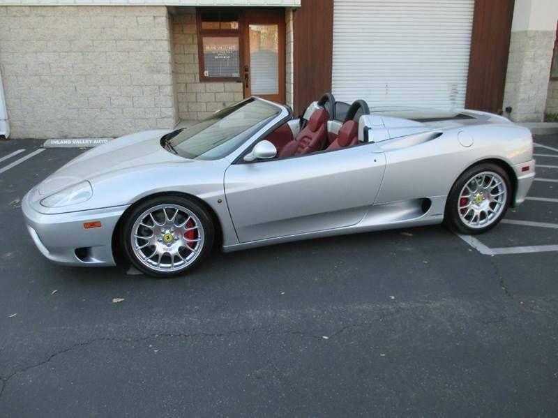2001 Ferrari 360 Spider for sale at Inland Valley Auto in Upland CA