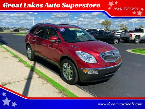 2012 Buick Enclave for sale at Great Lakes Auto Superstore in Waterford Township MI
