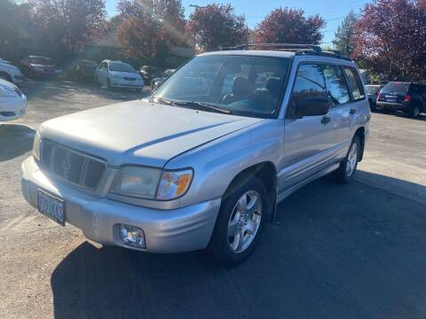 2002 Subaru Forester for sale at Blue Line Auto Group in Portland OR