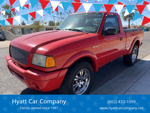 2002 Ford Ranger for sale at Hyatt Car Company in Phoenix AZ