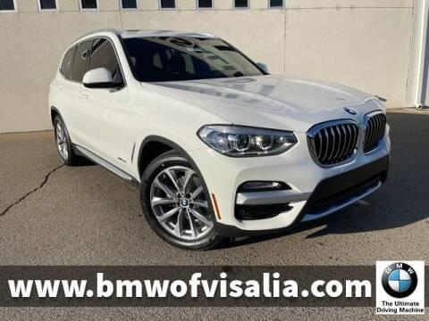2018 BMW X3 for sale at BMW OF VISALIA in Visalia CA