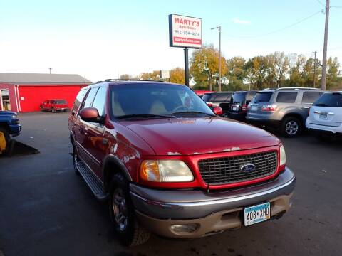 2002 Ford Expedition for sale at Marty's Auto Sales in Savage MN