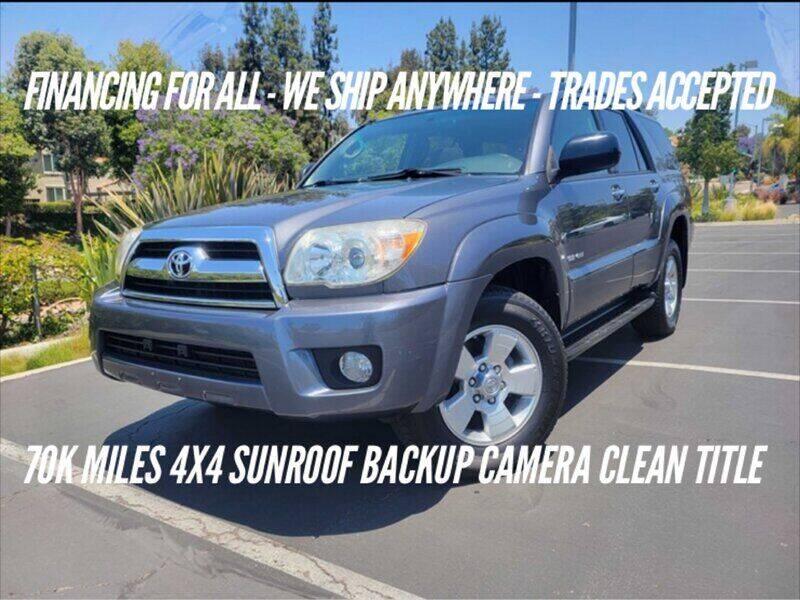 2007 Toyota 4Runner for sale at Auto Advantage in Escondido CA