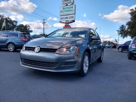 2015 Volkswagen Golf for sale at BAYSIDE AUTOMALL in Lakeland FL