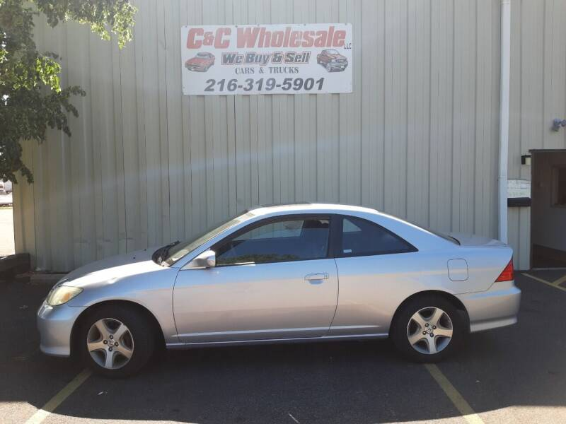 2004 Honda Civic for sale at C & C Wholesale in Cleveland OH