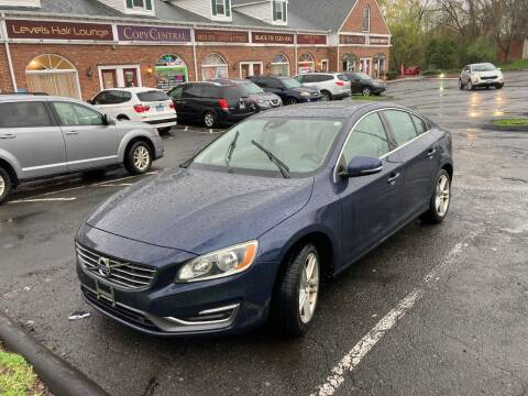2014 Volvo S60 for sale at ENFIELD STREET AUTO SALES in Enfield CT