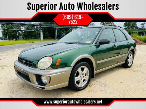 2003 Subaru Impreza for sale at Superior Auto Wholesalers in Burlington NJ