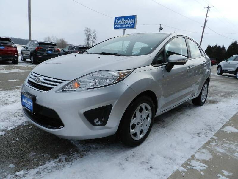 2013 Ford Fiesta for sale at Leitheiser Car Company in West Bend WI