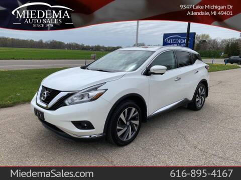 2015 Nissan Murano for sale at Miedema Auto Sales in Allendale MI