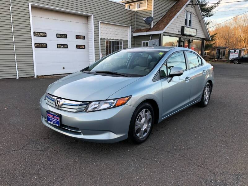 2012 Honda Civic for sale at Prime Auto LLC in Bethany CT