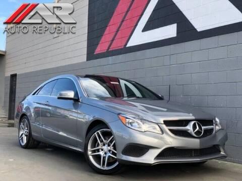 2014 Mercedes-Benz E-Class for sale at Auto Republic Fullerton in Fullerton CA