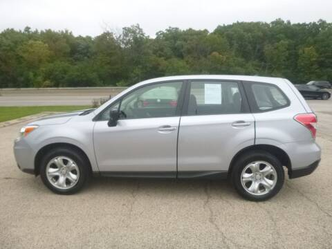 2014 Subaru Forester for sale at NEW RIDE INC in Evanston IL