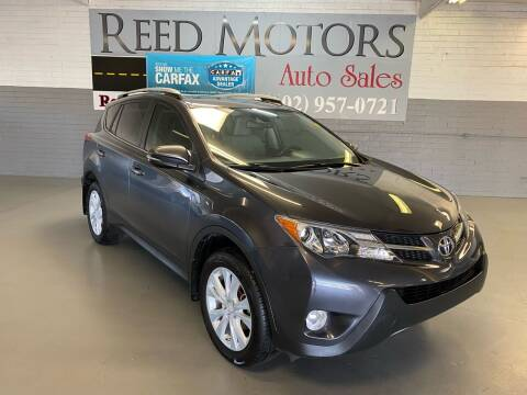 2015 Toyota RAV4 for sale at REED MOTORS LLC in Phoenix AZ